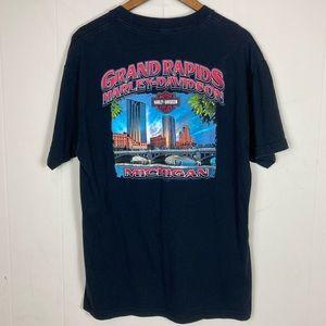 Harley Davidson Tee Shirt Grand Rapids Michigan